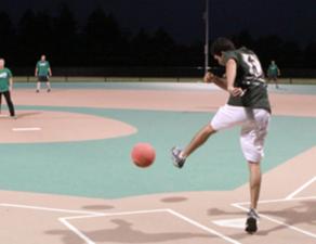 No Idea Sports - Adults Playing Kickball