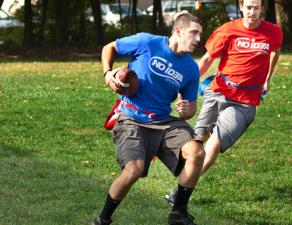 No Idea Sports - Adults Playing Football